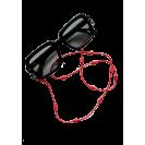 Laikiklis 3in1: kaukei, ausinėms, akiniams,   raudona