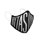 """#RytasFamily veido kaukė """"Rytas"""", juoda"""