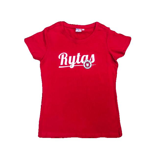 """Moteriški marškinėliai """"Rytas"""", raudoni"""