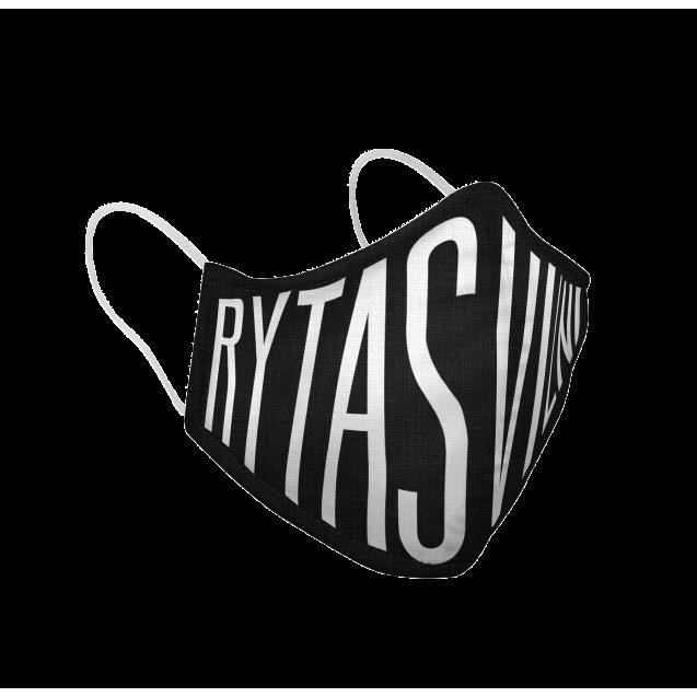 """Veido kaukė """"Rytas Vilnius"""", juoda"""