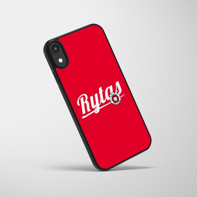 """Telefono dėklas """"Rytas"""", raudonas"""