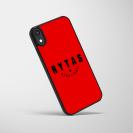 """Telefono dėklas """"Rytas basketball"""", raudonas"""