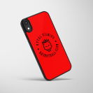 """Telefono dėklas """"Basketball club"""", raudonas"""