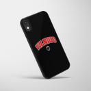 """Telefono dėklas """"Vilnius"""", juodas-raudonas"""