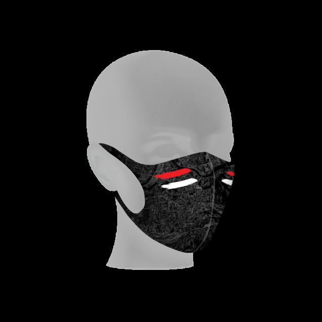 """#RytasFamily veido kaukė """"JBR"""", juoda"""