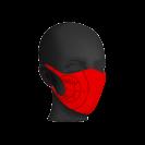"""#RytasFamily veido kaukė """"Rytas"""", raudona"""