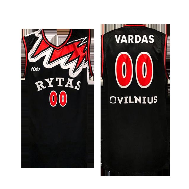 2000 m. vardiniai originalūs marškinėliai, juodi