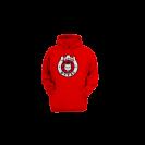 Vaikiškas džemperis su logotipu, raudonas