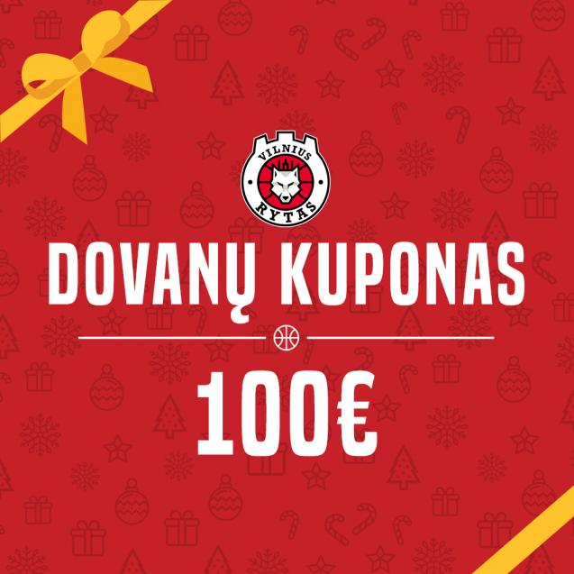100€ vertės dovanų kuponas