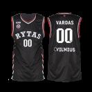 Žaidybiniai marškinėliai su krepšininko parašu