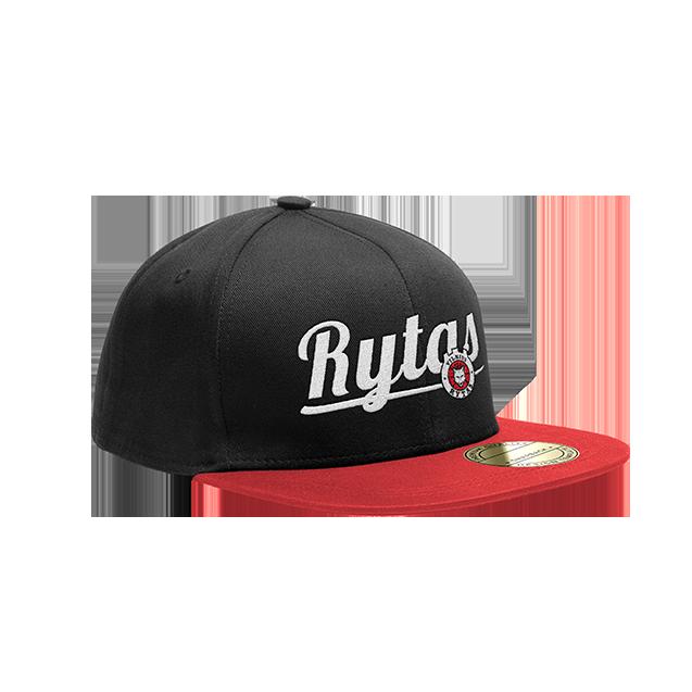 """Snapback kepurė """"RYTAS"""" raudona"""
