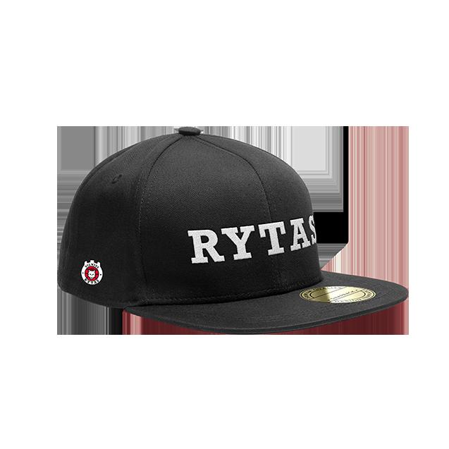 """Kepurė Snapback """"Rytas"""", juoda"""