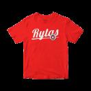 """Marškinėliai """"Rytas"""", raudoni"""